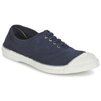 Zapatos Mujer Zapatillas bajas Bensimon TENNIS LACET Marino