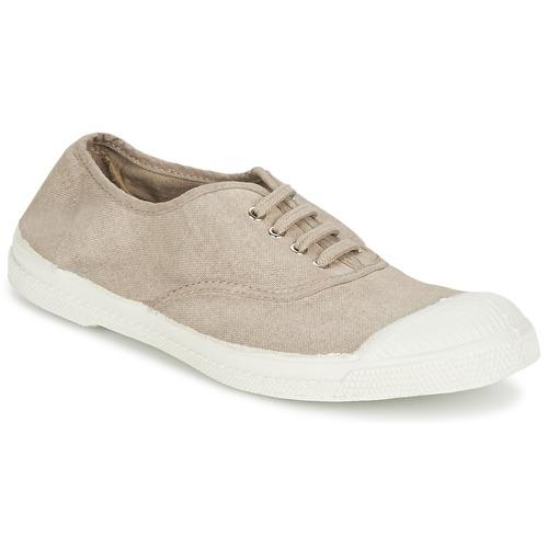 Zapatos Mujer Zapatillas bajas Bensimon TENNIS LACET Dark / Beige