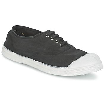Zapatos Mujer Zapatillas bajas Bensimon TENNIS LACET Carbón