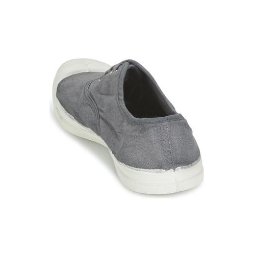 Tennis GrisMedio Mujer Bajas Lacet Zapatillas Bensimon Zapatos 34RLqA5j