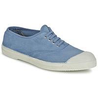 Zapatos Mujer Zapatillas bajas Bensimon TENNIS LACET Azul