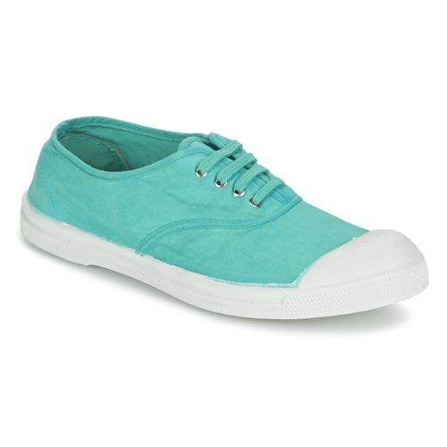 Zapatos Mujer Zapatillas bajas Bensimon TENNIS LACET Turquesa