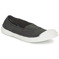 Zapatos Mujer Zapatillas bajas Bensimon TENNIS ELASTIQUE Carbón