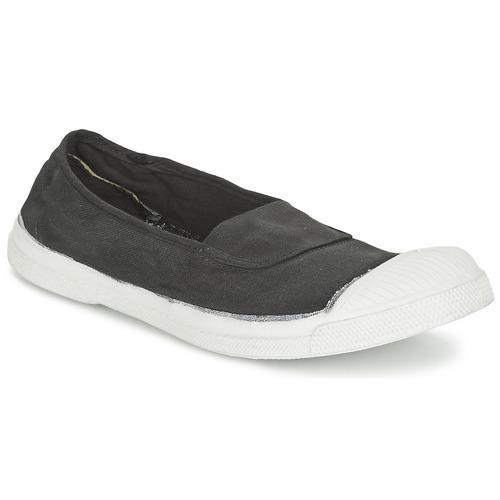 Zapatos Mujer Bailarinas-manoletinas Bensimon TENNIS ELASTIQUE Carbón
