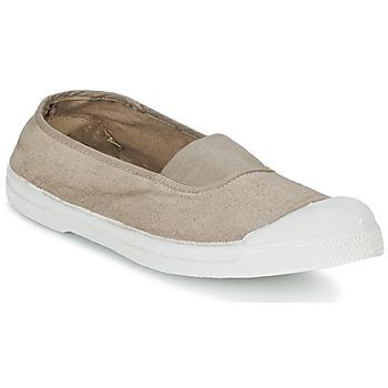Zapatos Mujer Zapatillas bajas Bensimon TENNIS ELASTIQUE Beige