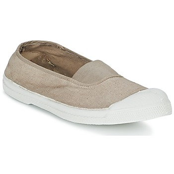 Zapatos Mujer Bailarinas-manoletinas Bensimon TENNIS ELASTIQUE Beige