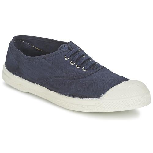 Zapatos Hombre Zapatillas bajas Bensimon TENNIS LACET Marino