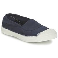 Zapatos Niños Zapatillas bajas Bensimon TENNIS ELASTIQUE Marino