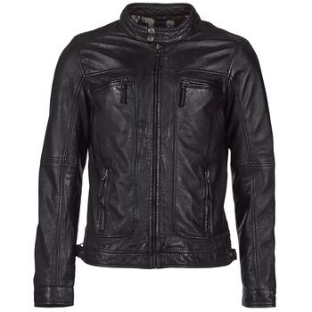 textil Hombre Chaquetas de cuero / Polipiel Oakwood 60901 Negro