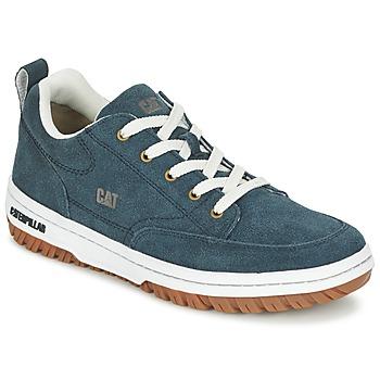 Zapatos Hombre Zapatillas bajas Caterpillar DECADE SUEDE Azul / Noche