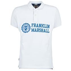 textil Hombre polos manga corta Franklin & Marshall AYLEN Blanco