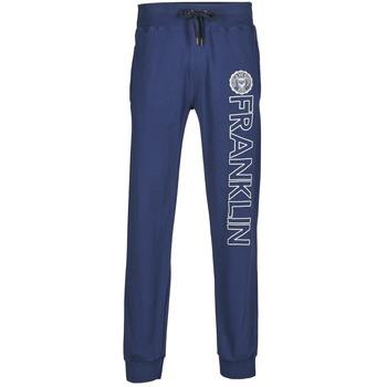 textil Hombre Pantalones de chándal Franklin & Marshall ALLEN Marino