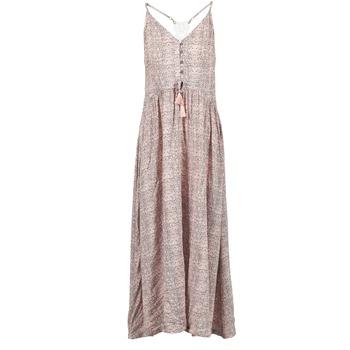 textil Mujer vestidos largos Rip Curl SNAKE Rosa