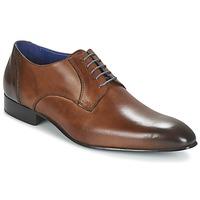Zapatos Hombre Derbie Carlington EMRONE Marrón