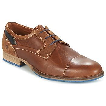 Zapatos Hombre Derbie Carlington ENDRI Camel