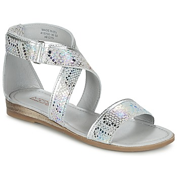 Zapatos Niña Sandalias Mod'8 JOYCE Plateado