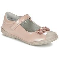 Zapatos Niña Bailarinas-manoletinas Mod'8 KOM Rosa / Polvo