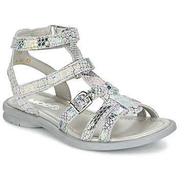 Zapatos Niña Sandalias Mod'8 JUJU Plateado