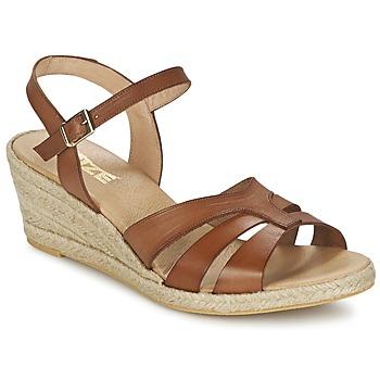 Zapatos Mujer Sandalias So Size ELIZA Marrón