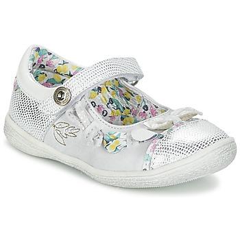 Zapatos Niña Bailarinas-manoletinas Catimini COLIBRI Plateado