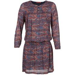 textil Mujer vestidos cortos Esprit AGAROZA Marino / Multicolor