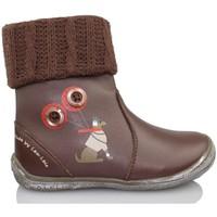 Zapatos Niña Botines Lea Lelo LEA LEO DRESSY TESTA DI M LANA MARRON