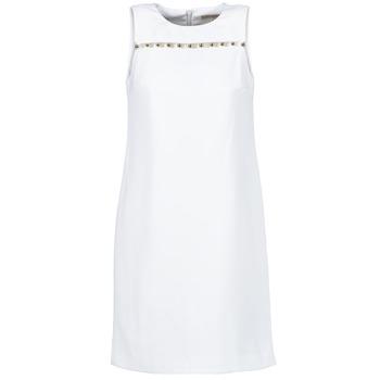 textil Mujer vestidos cortos MICHAEL Michael Kors MS68W2L3GZ Blanco