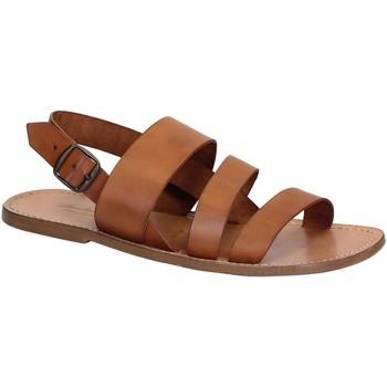 Zapatos Hombre Sandalias Gianluca - L'artigiano Del Cuoio 507 U CUOIO CUOIO Cuoio