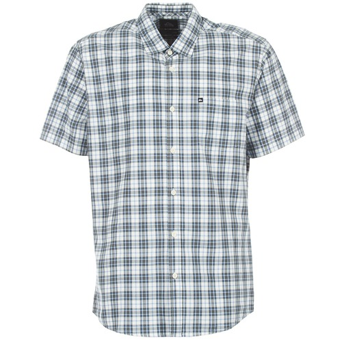 textil Hombre camisas manga corta Quiksilver EVERYDAY CHECK SS Azul
