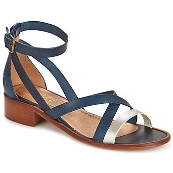 Zapatos Mujer Sandalias Casual Attitude COUTIL Azul