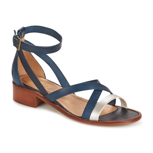 Zapatos de mujer baratos zapatos de mujer Zapatos especiales Casual Attitude COUTIL Azul