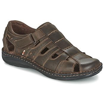 Zapatos Hombre Sandalias Casual Attitude ZIRONDEL Marrón