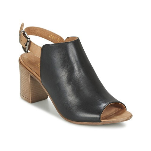 Zapatos Mujer Sandalias Casual Attitude SERIN Negro
