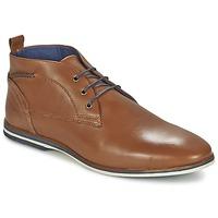 Zapatos Hombre Botas de caña baja Casual Attitude MANXIO Marrón