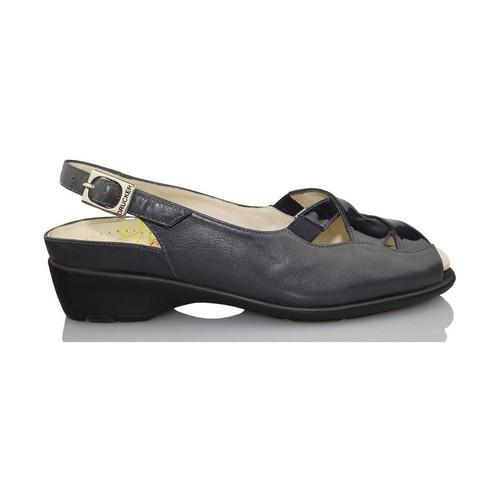 Zapatos Mujer Sandalias Drucker Calzapedic  AZUL