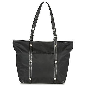 Bolsos Mujer Bolso shopping Pourchet JASMIN Negro / Marrón
