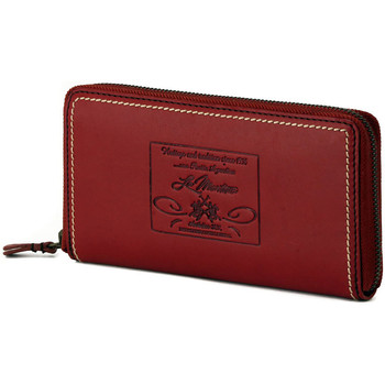 Bolsos Mujer Cartera La Martina ZIPPER MIRADA RED Rosso