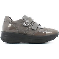 Zapatos Mujer Zapatillas bajas Enval 4992 Scarpa velcro Mujeres Taupe Taupe