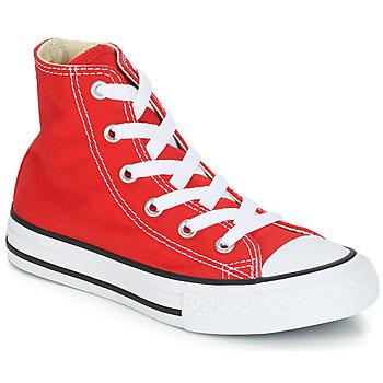 Zapatos Niños Zapatillas altas Converse CHUCK TAYLOR ALL STAR CORE HI Rojo
