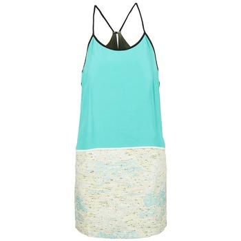textil Mujer vestidos cortos See U Soon ELEMAILLE Azul / Blanco