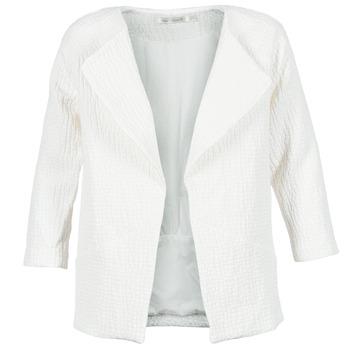 textil Mujer Abrigos See U Soon DACKA Blanco