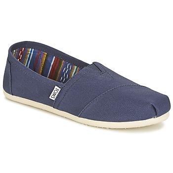 Zapatos Mujer Slip on Toms CLASSICS Marino