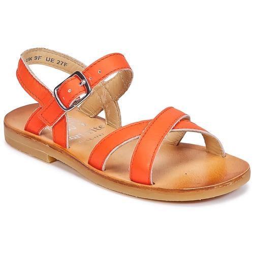 Zapatos Niña Sandalias Start Rite NICE II Naranja