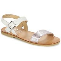 Zapatos Niña Sandalias Start Rite FLORA II Rosa / Blanco