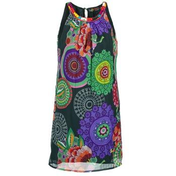 textil Mujer vestidos cortos Desigual ESTOLE Multicolor