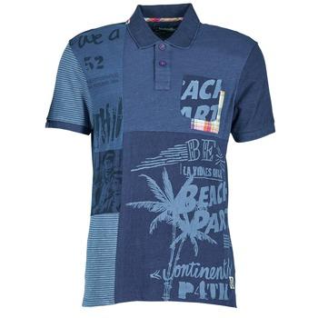 textil Hombre polos manga corta Desigual BELUDINE Azul
