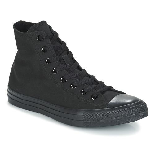 Casual salvaje Zapatos especiales Converse CHUCK TAYLOR ALL STAR MONO HI Negro