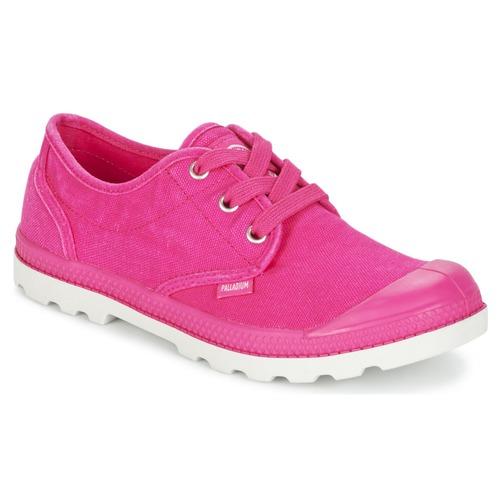 Zapatos Mujer Zapatillas bajas Palladium US OXFORD Rosa