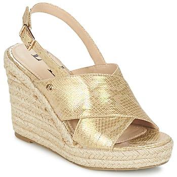 Zapatos Mujer Sandalias Elle CAMPO Beige / Oro