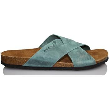 Zapatos Hombre Zuecos (Mules) Interbios M SANDALIA HOMBRE COMODA AZUL